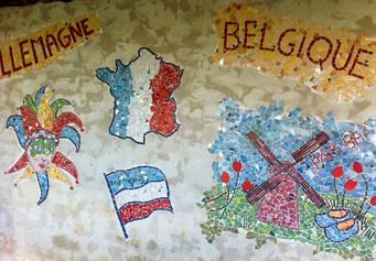 Fresque Ecole Primaire de La Chapelle-Mo