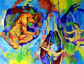 Eros mettant fin au désespoir de Psyché