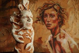 Sculpture métamorphose animale