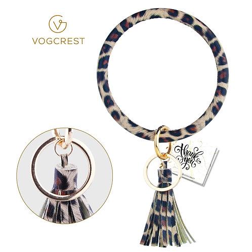 Wristlet Keychain Bracelet (leopard)