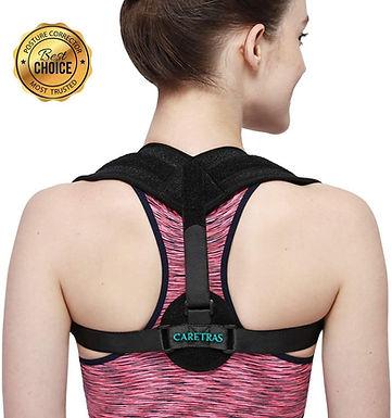 CARETRAS Posture Corrector (Black)