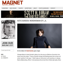 Magnet - print and online