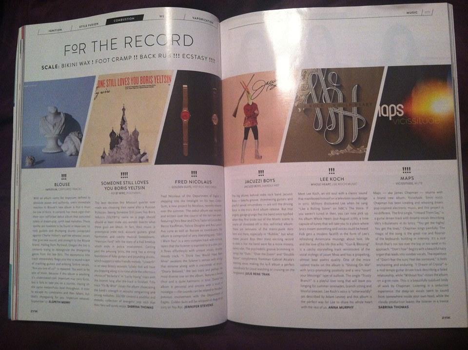 Z!NK Mag Print