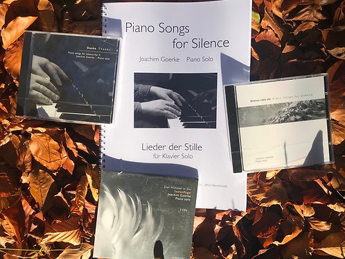 Weihnachts-Special: 'Piano Songs For Silence' Bundle