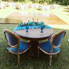 Rustic Sweetheart Table