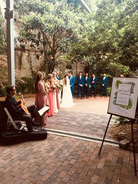 Wedding Ceremony in Downtown Wilmington NC