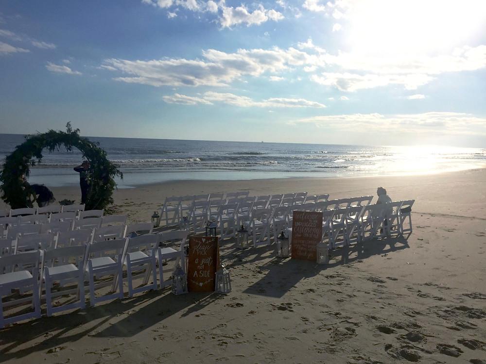 Oak Island Wedding