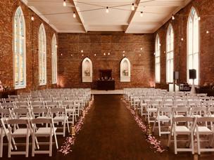 Wedding Ceremony at Saint Thomas Preservation Hall