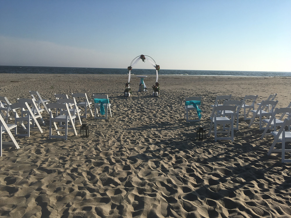Oak Island NC Wedding Ceremony
