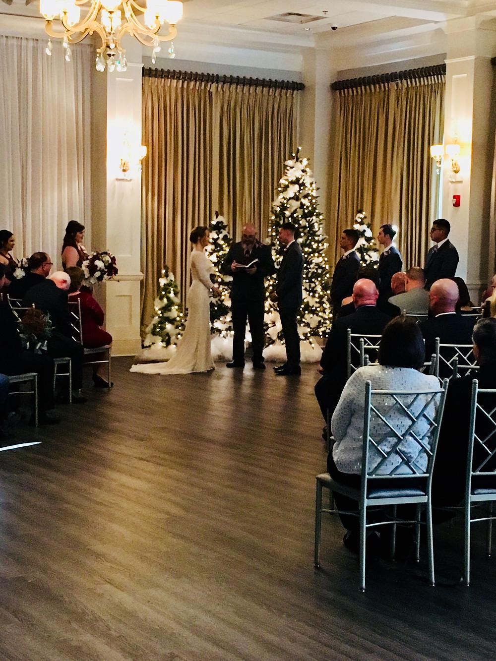 Wedding Ceremony, Bride And Groom Wedding Vows