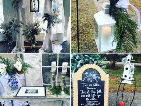 A Beautiful December Wedding