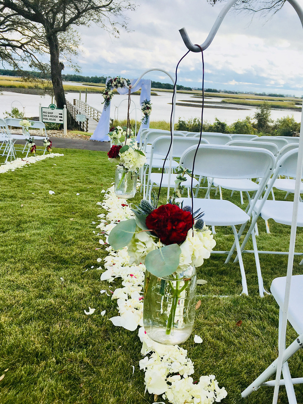 Waterfront Wedding Ceremony