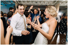 The Bride dancing the night away