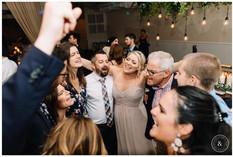 Wedding Guests on the dance floor