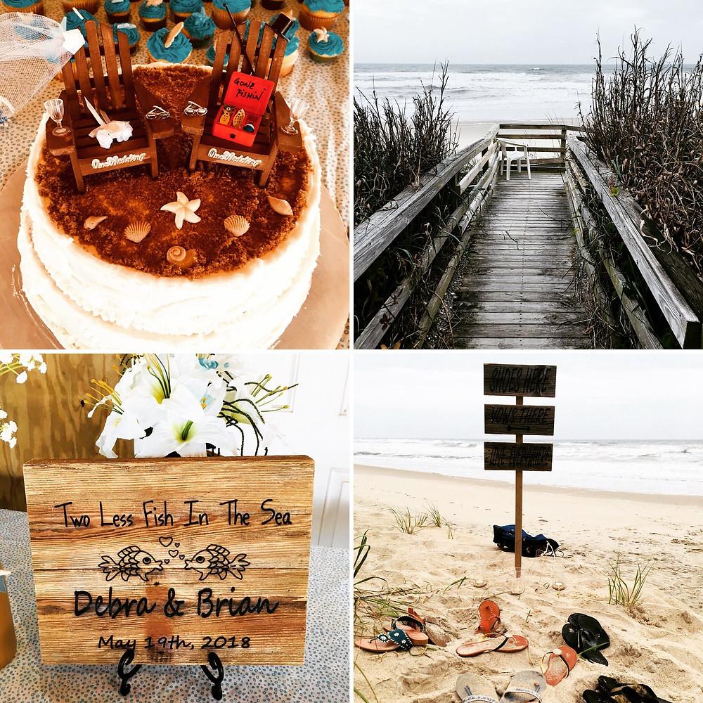 Emerald Island Beach Wedding