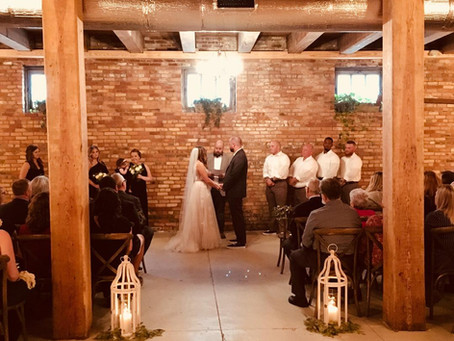 Warehouse 1856 Wedding