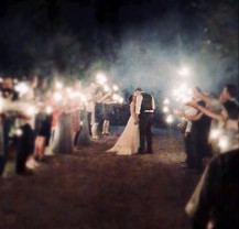 Wedding Sparkler Exit!