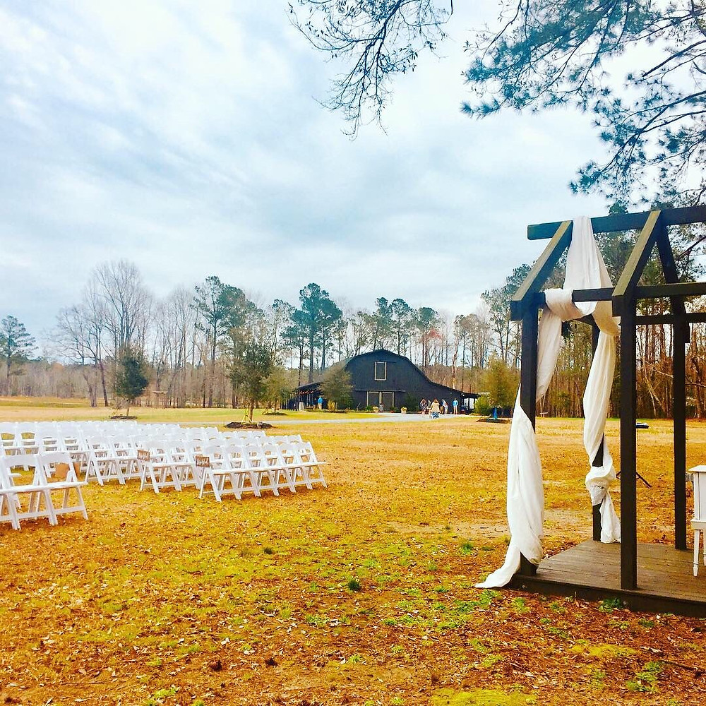 Wilmington NC Wedding DJ, Barn Wedding