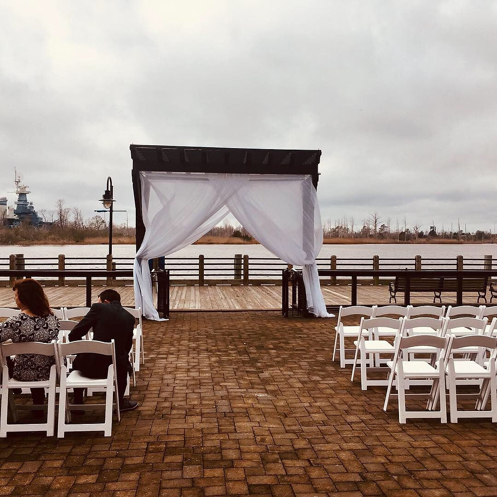 wedding ceremony, wedding dj Wilmington nc,