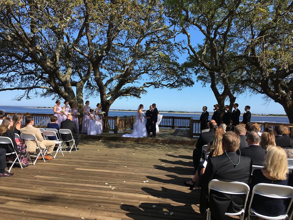 Southport NC Wedding Ceremony