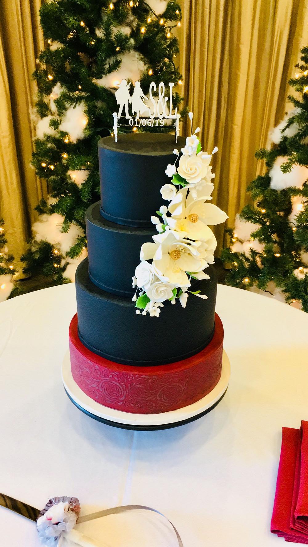 Wedding Cake, Gothic Wedding