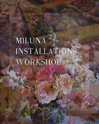 Miluna flower design class🥀__Large inst