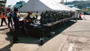 西目屋村総合防災訓練に参加しました。