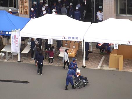 藤崎町防災訓練に参加いたしました。