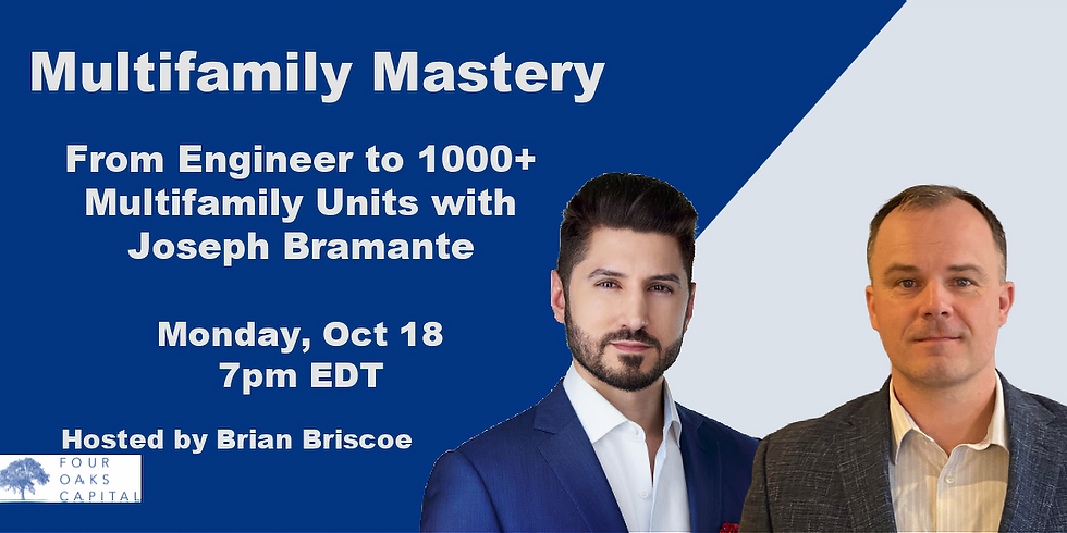 From Engineer to 1000+ Multifamily Units with Joseph Bramante