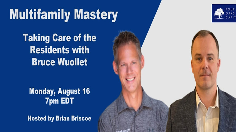 Taking Care of the Residents with Bruce Wuollet