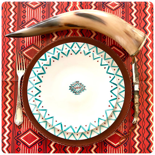 """""""south west collection"""", dessert plate"""