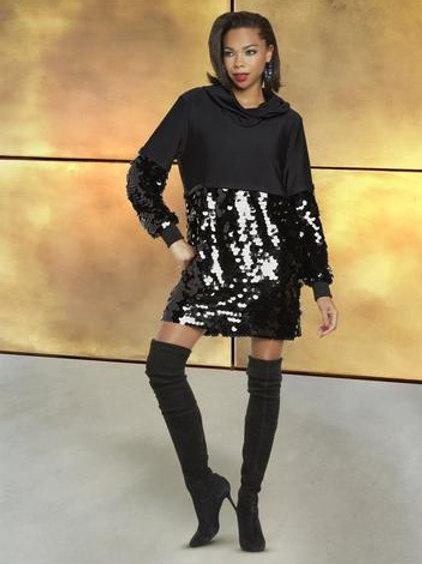 Short Sequin Dress/Top