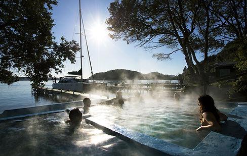Pure Cruise Lake Rotoiti Hot Pools