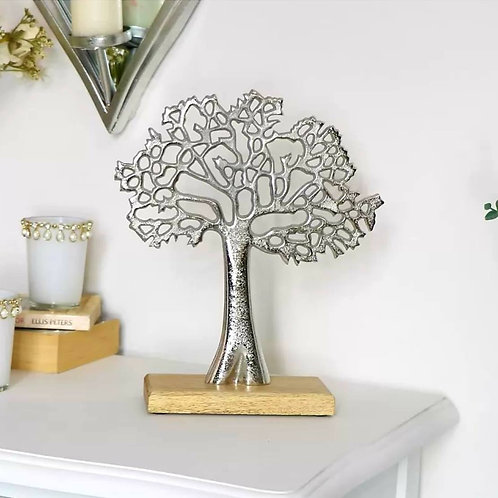 ALUMINIUM TREE OF LIFE 42cm