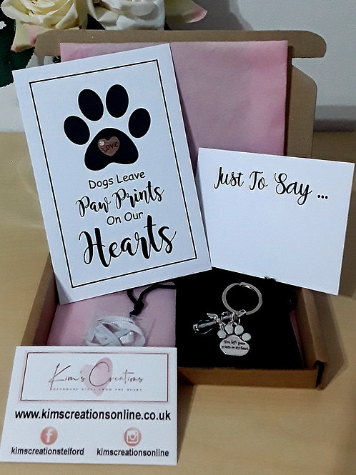 LETTERBOX LOVE DOGS LEAVE PAW PRINTS