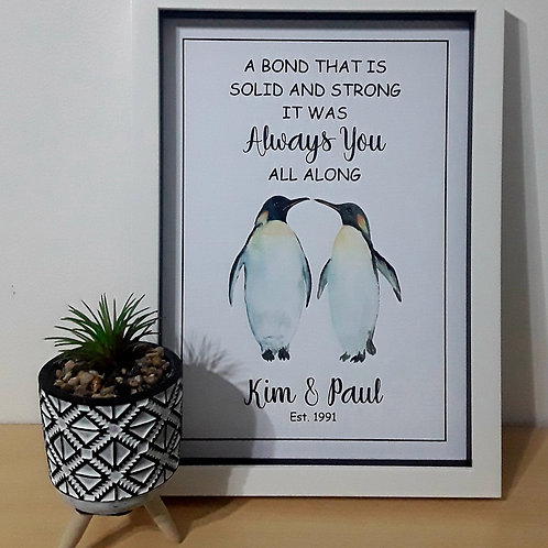 A4 PENGUIN ALWAYS YOU