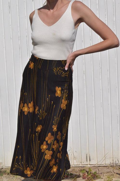 Floral midi skirt - Natalie