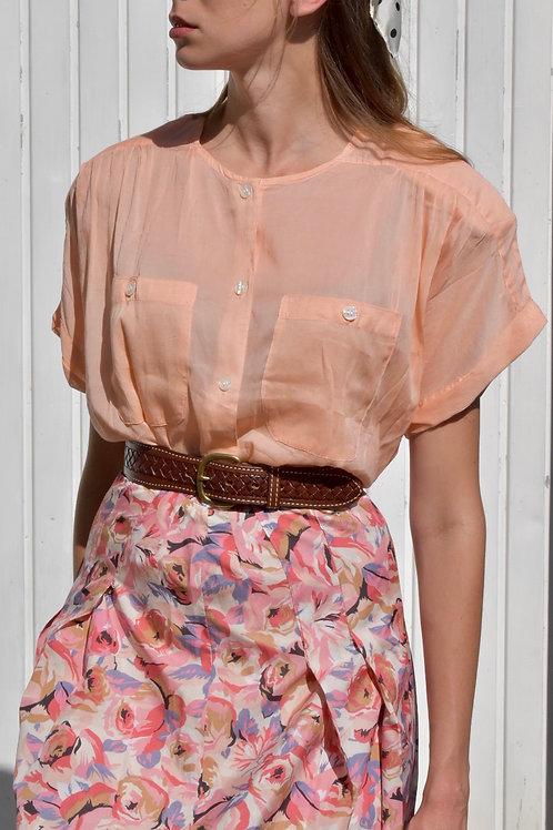 Shirt - Peach sorbet