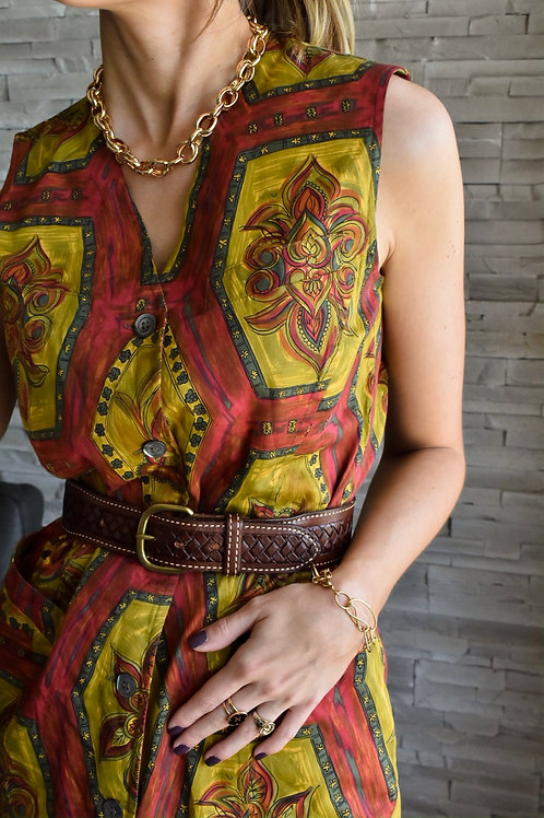 Sleeveless dress - Casablanca fever