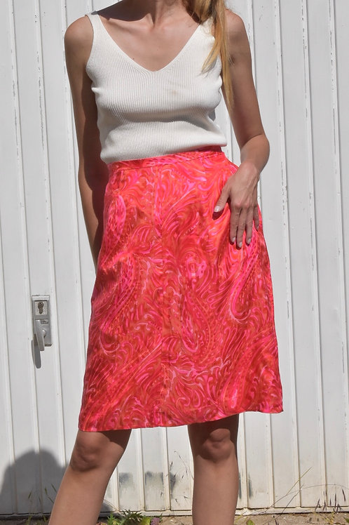 Pink pencil skirt - Candis