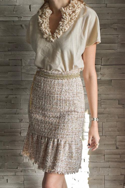 Rouge's tweed skirt - Blond in law