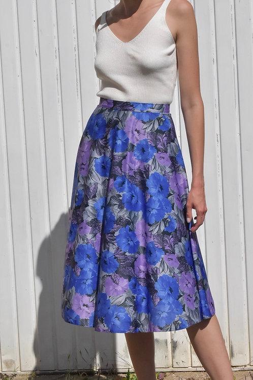 Floral midi skirt - Violetta