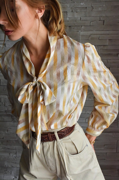 Bow blouse - Lolly pop