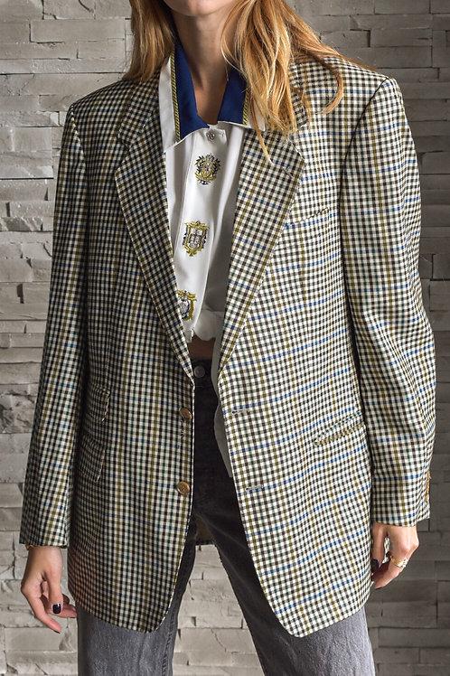 Oversized plaid blazer - Laila
