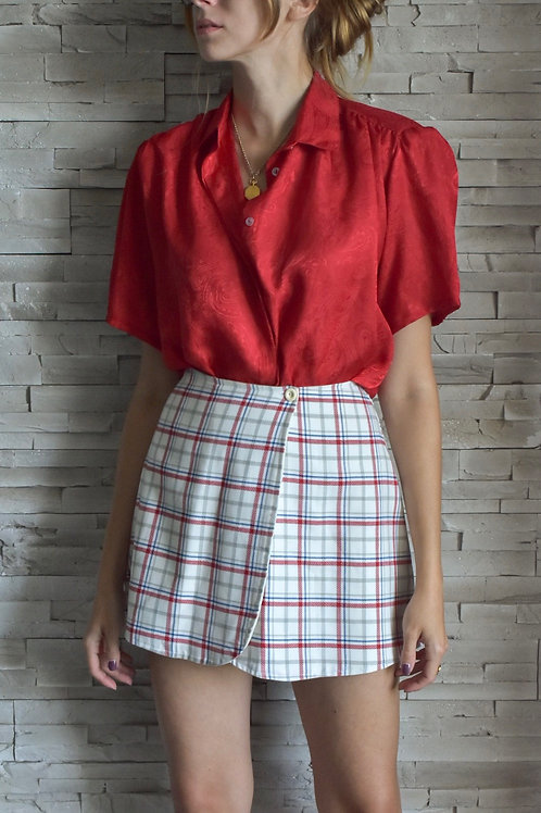 Shoulder pads blouse - Heart beating