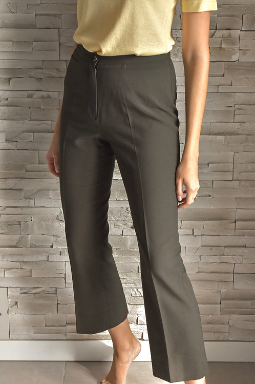 Flared cropped trousers - Constance