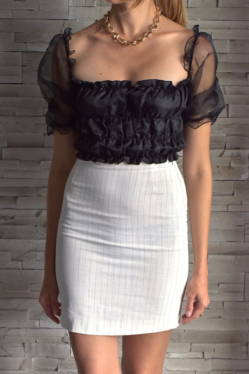 Max Mara white moni skirt - Simply smarter