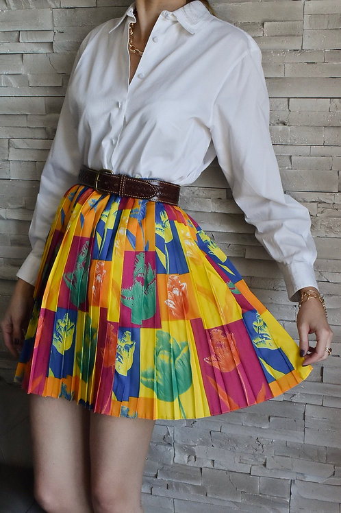 Pleated skirt - Kaleidoscope