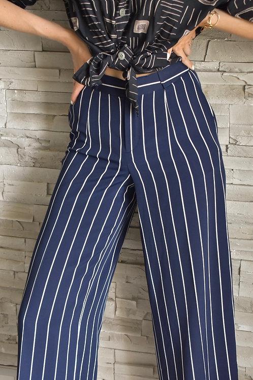 Ralph Lauren striped trousers - First cruise