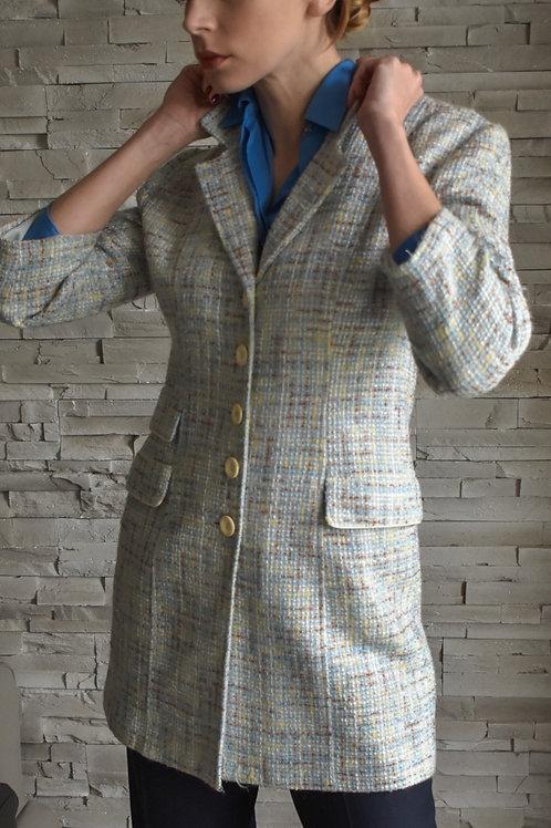 Tweed long jacket - Imparfaite
